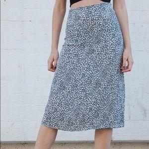 Phoebe Cheetah Skirt